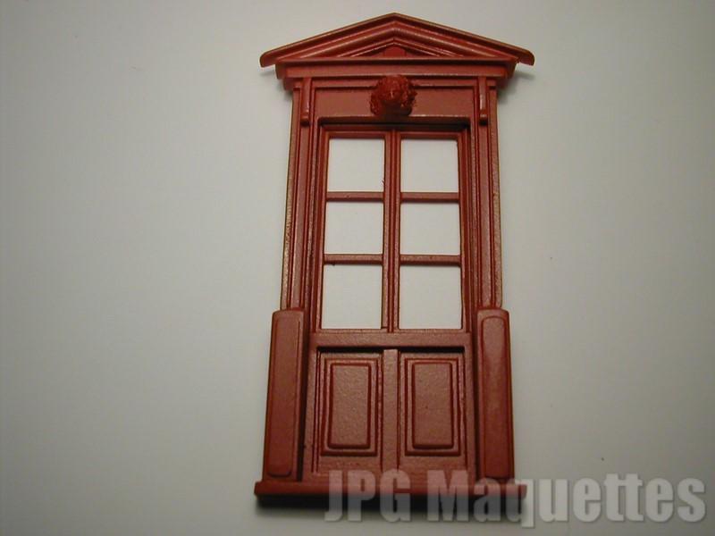 Porte fen tre 6 carreaux a01445 chambranle a01451 a01457 for Fenetre 6 carreaux